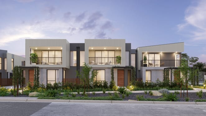 Salt Townhomes Torquay prove to be popular among locals and first home buyers with off-the-plan sales success