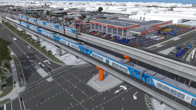 Frankston station rebuild and Skye Road level crossing removal to be complete by mid June