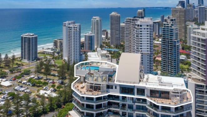 Melbourne's Smorgon family list Main Beach penthouse