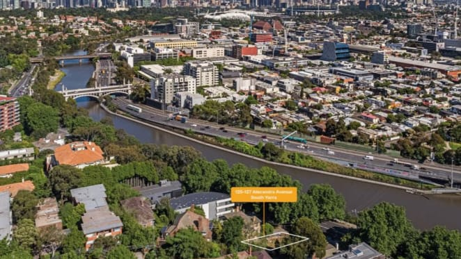 South Yarra residential development site with project potential listed