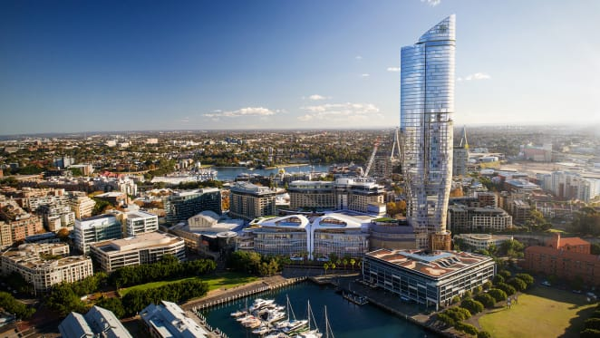 Ritz-Carlton Tower at The Star adds to Darling Harbour's rejuvenation