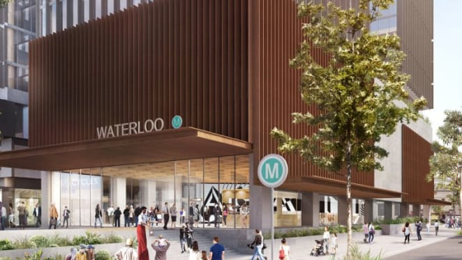 NSW government awards $299 million contract for new Waterloo metro station and integrated development
