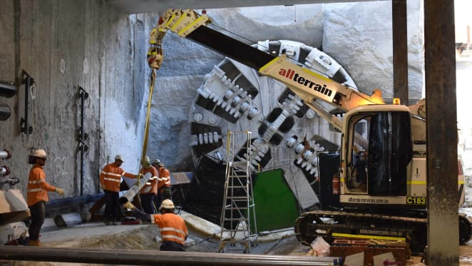 Perth's Forrestfield-Airport rail link completes a major TBM milestone