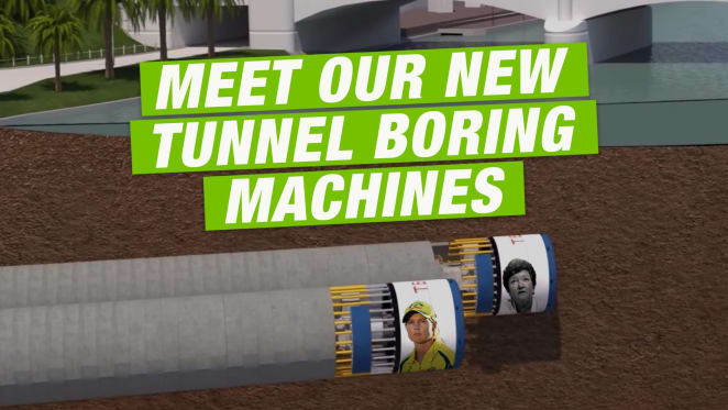Melbourne Metro's first TBM arrives, named after Victoria's first female premier