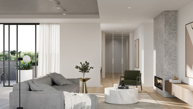 The design details of The Inc by Platinum in Caulfield North