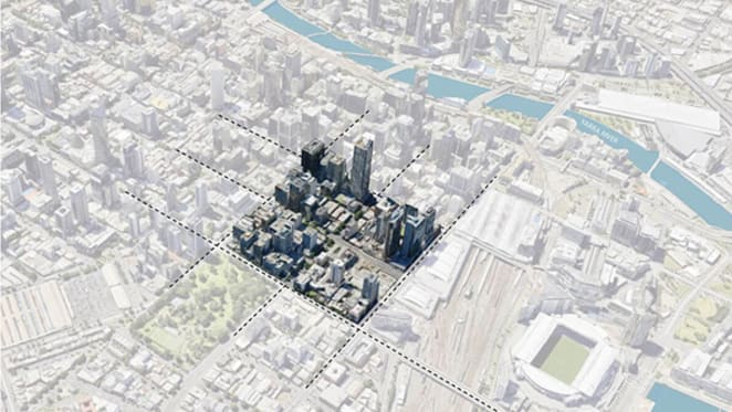 Urban Land Institute invites ideas for north-west corner of Melbourne CBD
