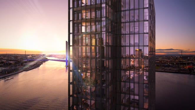 The beginning of the end: No.1 Collins Wharf