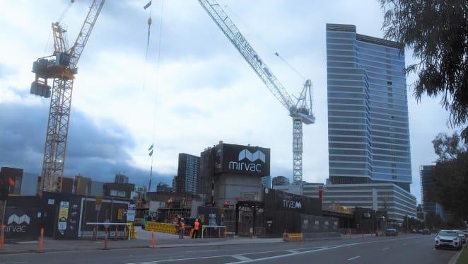 Voyager, Melbourne construction update