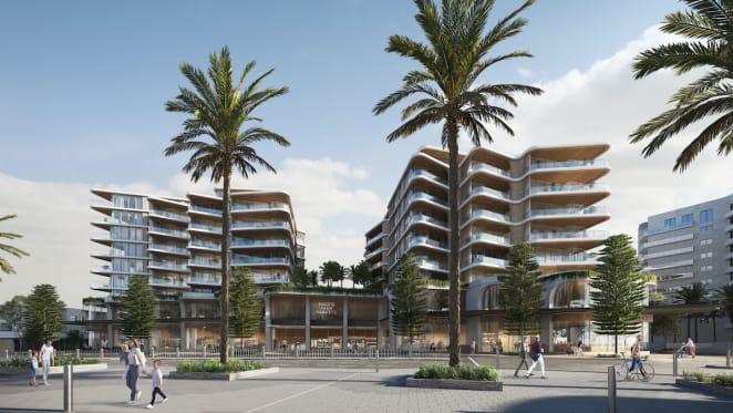 Sammut Group's $350 million mixed-use development Vue to change Cronulla CBD