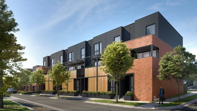 Urban's tour of the Yarraville Place display suite