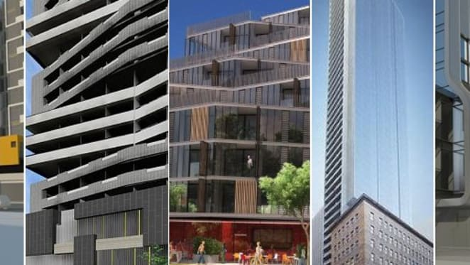 New projects in the Urban.com.au database