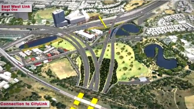 How to ruin an improving landscape: East-West Tunnel