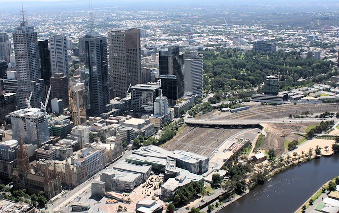 Five designs to make Fed Square East proud