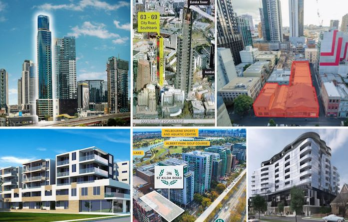 Development sites to the fore