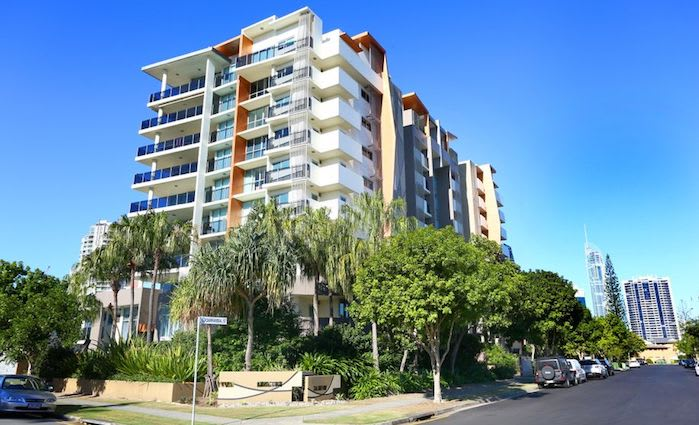 Chevron Island, Queensland mortgagee apartment listed for auction