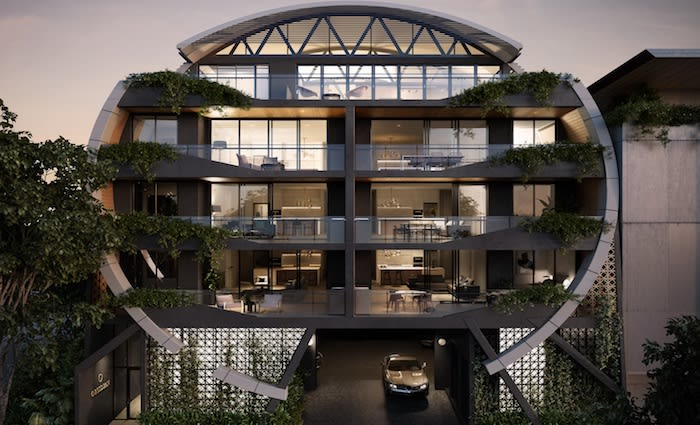 Teneriffe submarine-inspired apartments for sale