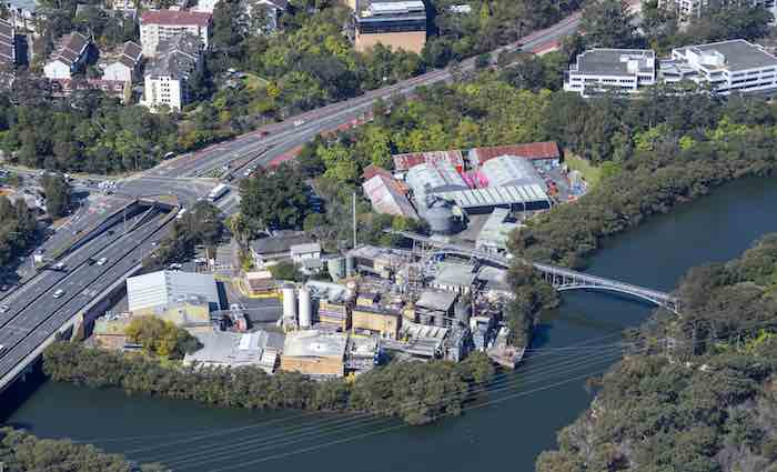 Lane Cove corn mill industrial site hits the market