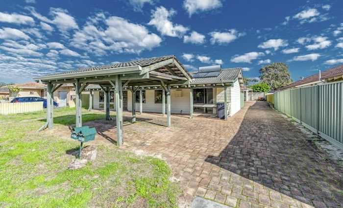 Gosnells, WA mortgagee residence listed for $215,000