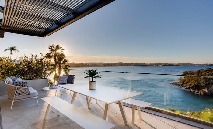 Manly trophy home passed in on $15 million vendor bid amid strenthening weekend auctions