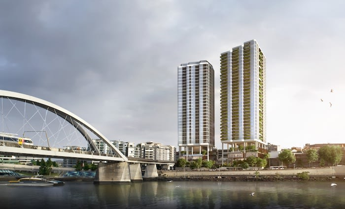 Approval lodged for a $200 million mixed-use development in Brisbane