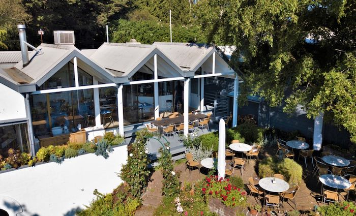 Artisan restaurant and homestead in Red Hill listed