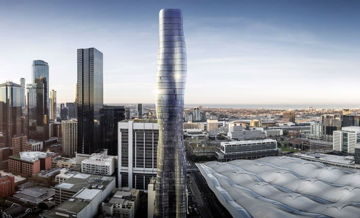 COVID-19 infections hit Melbourne's Beyonce inspired tower construction site