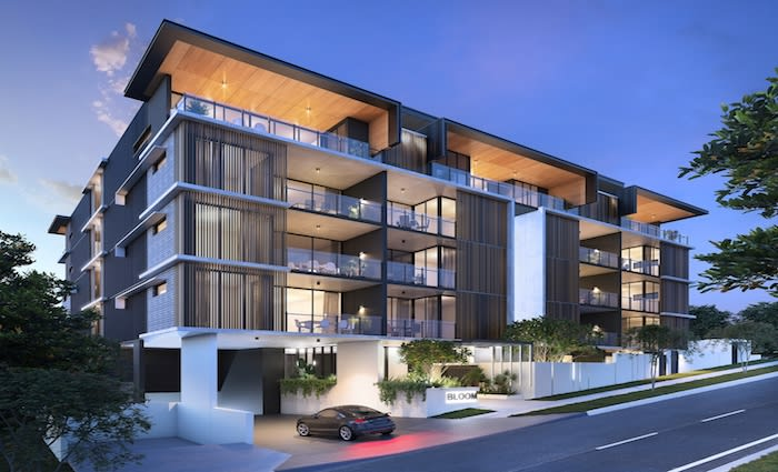 Bloom on Wesley apartment project launched in Brisbane