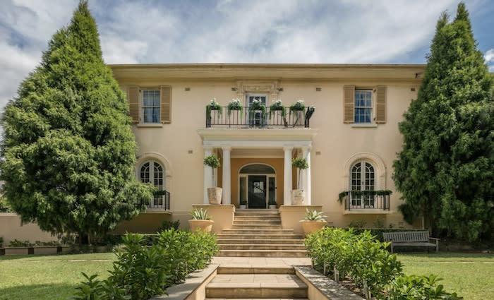 The former Bellevue Hill home of financier and debt collector Big Jim Byrnes listed