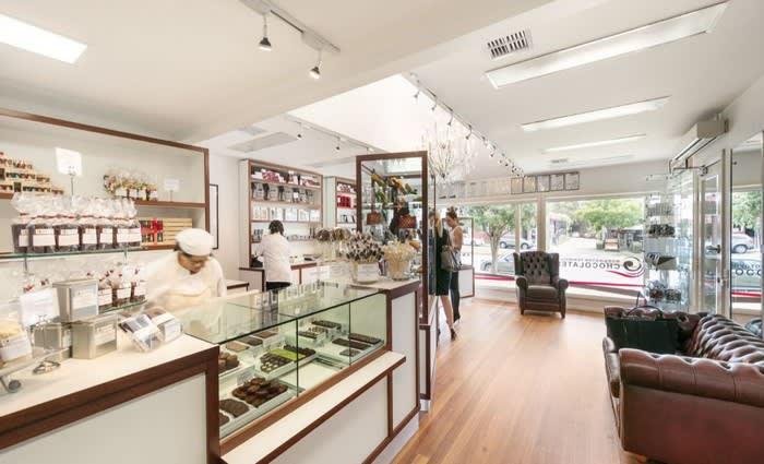 Flinders chocolatiers list Main Street business premises