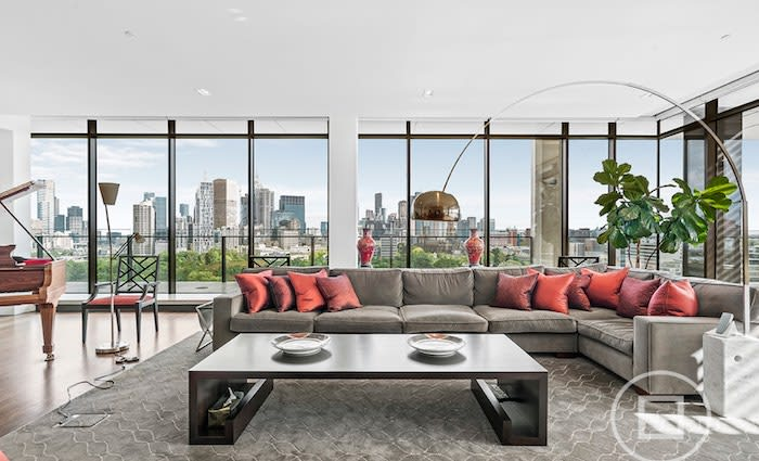 The 1101/150 Clarendon Street, East Melbourne sub-penthouse repriced $10 million less than initial $46 million hopes