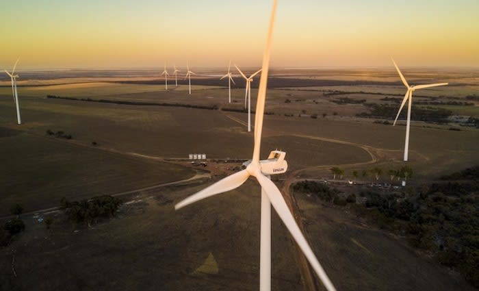 UBS sell controlling stake in Collgar Wind Farm, Western Australia's largest wind farm