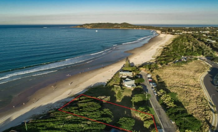 John 'Strop' Cornell and Delvene Delaney list last Belongil Beach, Byron Bay land holding
