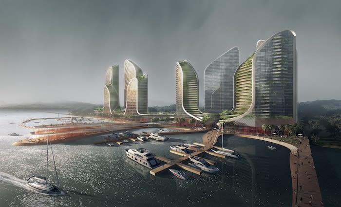 Crown Group plans $1 billion vertical waterfront city for Jakarta