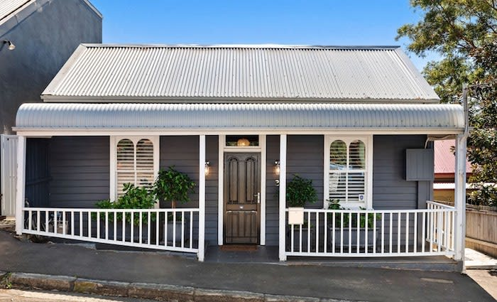 Quintessential Portsea holiday home listed by designer couple