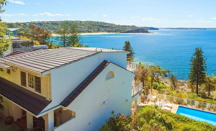 Jennifer Hawkins and Jake Wall the $6.95 million rumoured buyers of Dame Joan Sutherland's Whale Beach estate