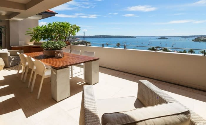 Darnley Hall, Elizabeth Bay penthouse back on the market