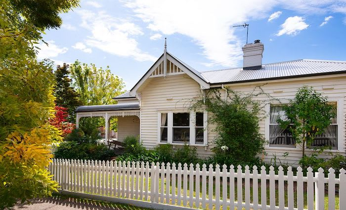 A Daylesford circa 1880's trophy home Gloriette listed for sale