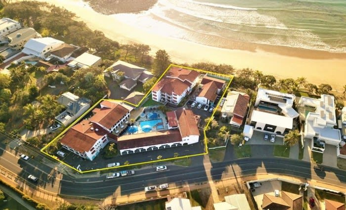 Don Pancho Beach Resort in Bargara, QLD listed for sale