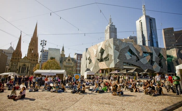 """""""Very rare"""" Federation Square leasing opportunities on the market"""