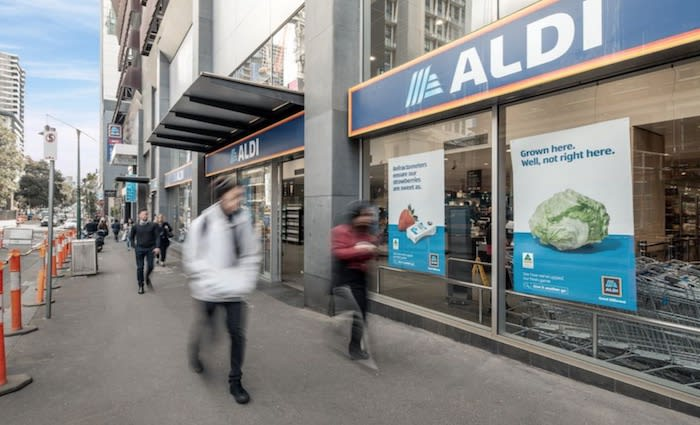 Two ALDI supermarkets in Melbourne for sale