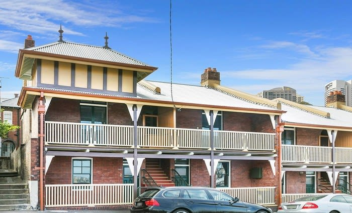 Four High Street NSW government-owned properties sold at Millers Point