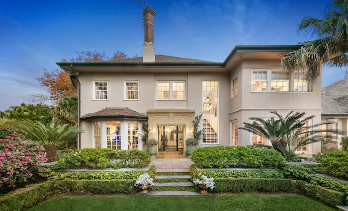 Toorak trophy homes Palmilla and Carmyle sell