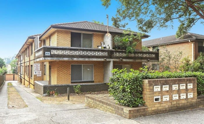 Homebush West, NSW mortgagee home sold at auction