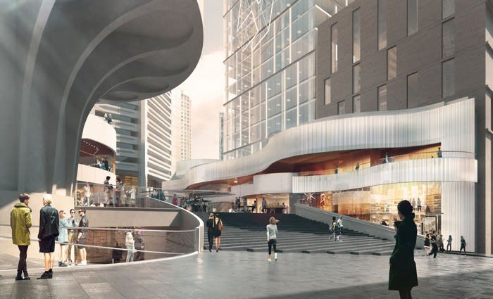 Dexus begins construction on MLC Centre retail precint renewal, Sydney