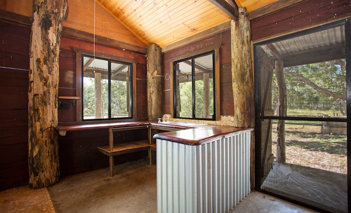 Unusual Mackay cabin with frontier touches listed for auction