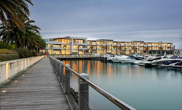 The Mornington Peninsula's newest town centre, Marina Village Martha Cove, starts to take shape