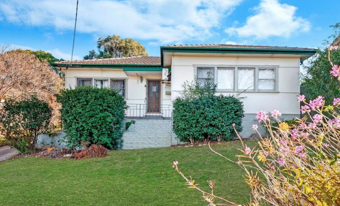 Two bedroom Constitution Hill home listed by mortgagees