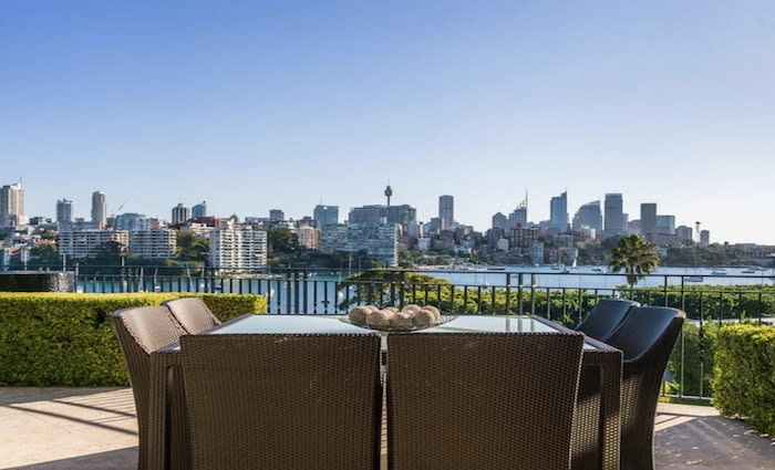 Former CBA chief lists Darling Point duplex