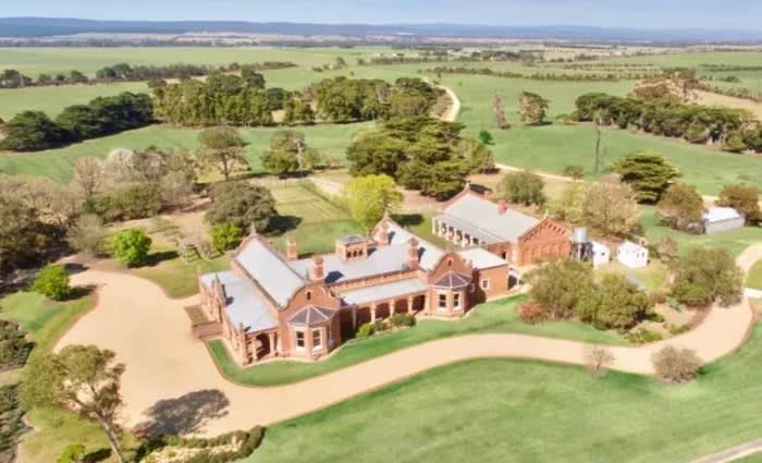 Home of Patrobas, Nambrok listed by McGauran family at Gippsland