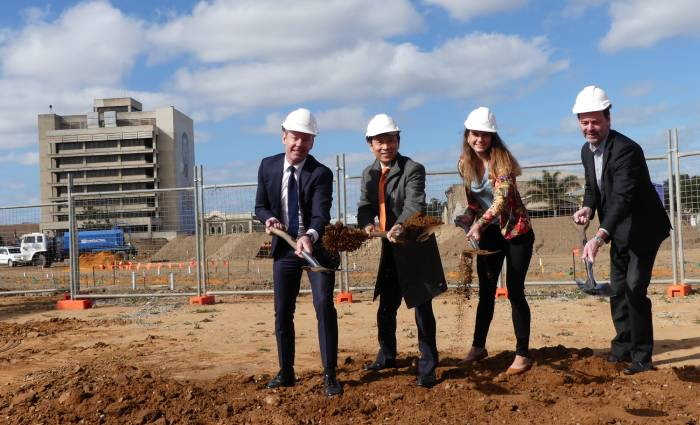 Ground broken at Dock One masterplanned community at Port Adelaide
